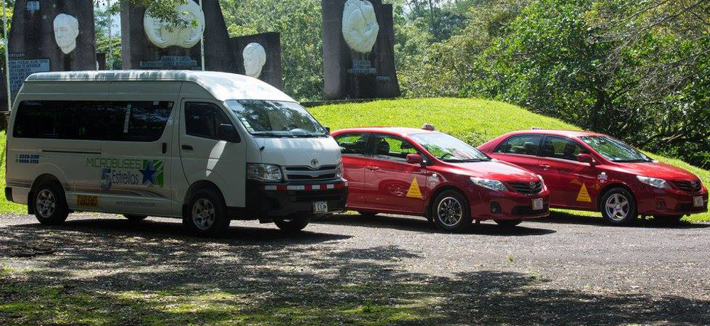 buseta y taxi five stars group, en el carrucel
